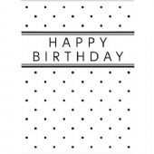 Darice Embossing Folder - Birthday with Dots – 1215-45